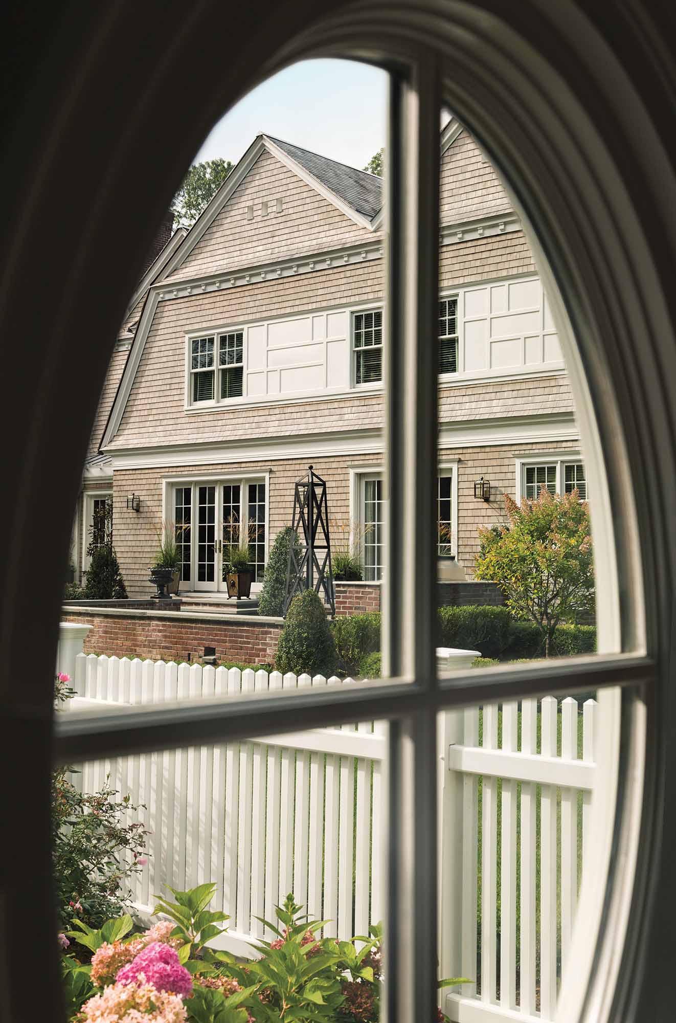 Shingle style, renovation, long island, Westbury, cabana window