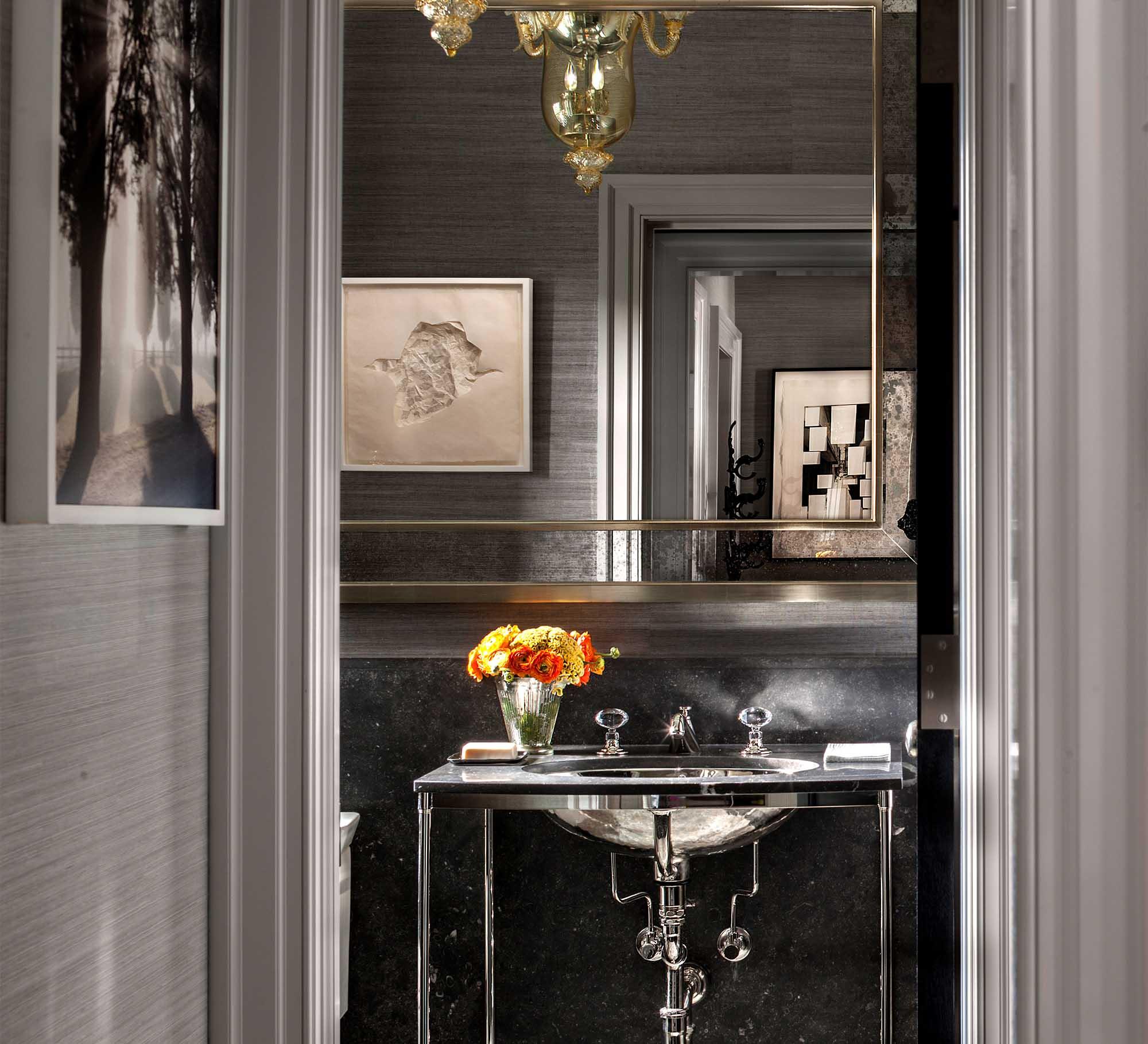 79th Street Apartment, Lenox Hill, Manhattan, Central Park transitional, power room