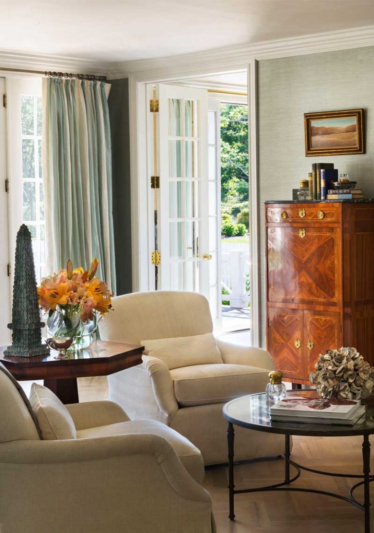 East Hampton, Long Island architect, classical, traditional, transitional interiors, neoclassical, renovation