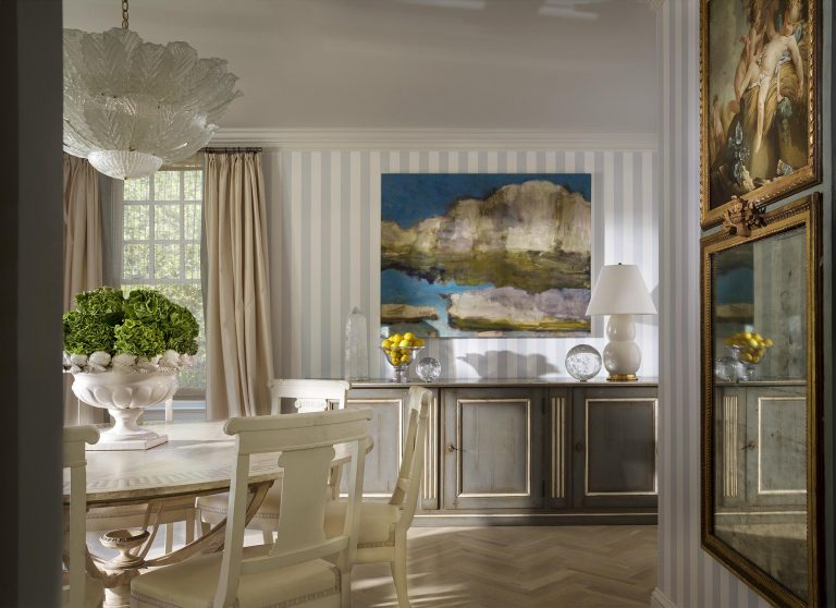 East Hampton, Long Island architect, classical, traditional, transitional interiors, neoclassical, renovation, herringbone wood floor,