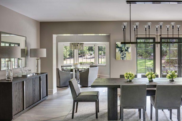 Dining room, breakfast room, contemporary, transitional