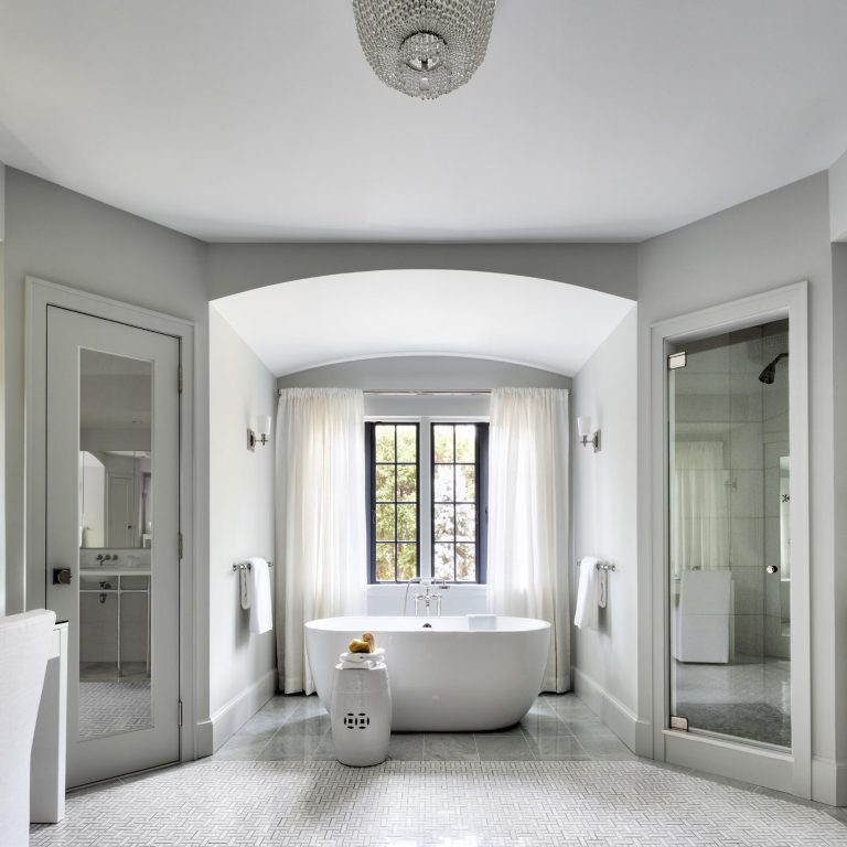 bathroom renovation, transitional